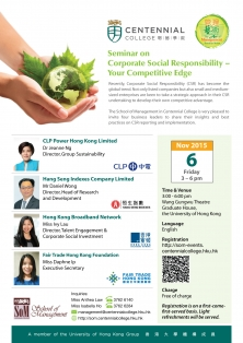 Corporate Social Responsibility – Your Competitive Edge