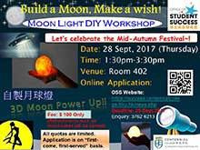 Moon Light DIY Workshop cum Mid-Autumn Festival Celebration