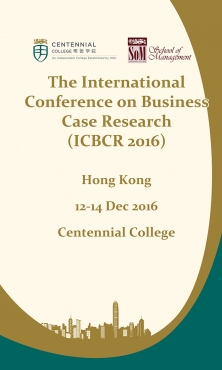 The International Conference on Business Case Research (ICBCR 2016)