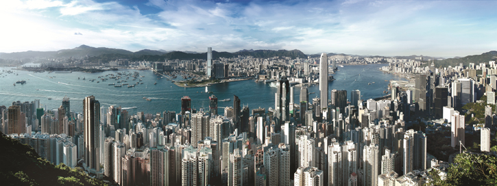 A Bird's Eye View of Hong Kong