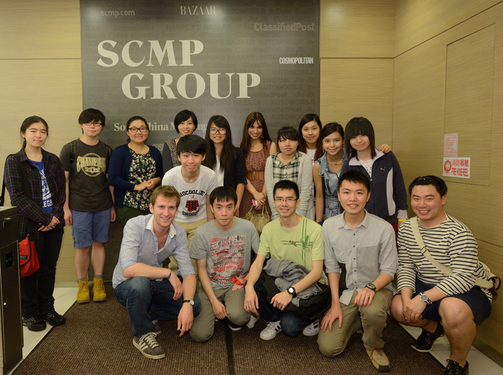 Group photo - Visit to SCMP