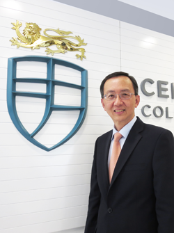 President of Centennial College - Prof William Lee