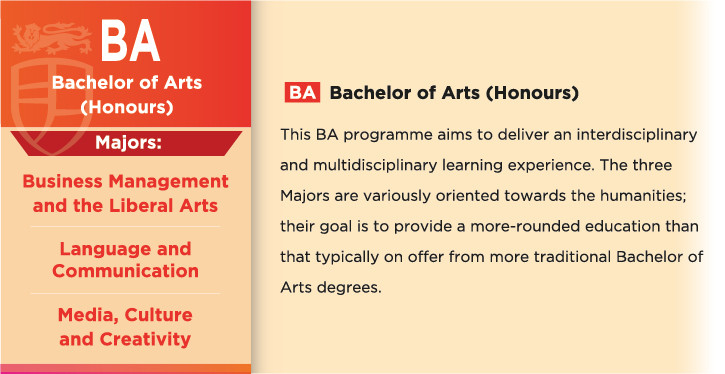 Bachelor of Arts