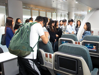 Centennial College Field Trip - Cathay Pacific City