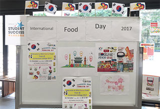 International Food Day: Mini Korea Food Expo in Centennial College 2017_1