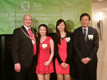The Association of International Accountants (AIA) - Hong Kong Branch Annual Dinner 2015