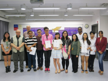 Congratulations to winners of the Speech Contest 2015